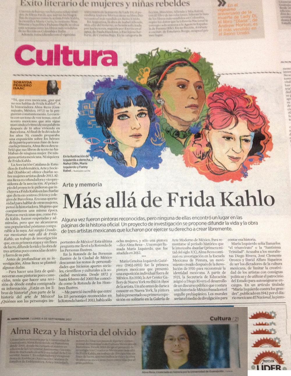 IMG_El Espectador_AlmaReza_FridaKahlo_LaChé